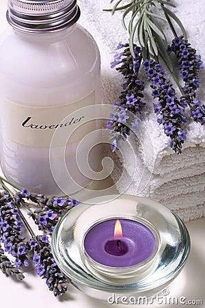 Free Lavender Spa Stock Image - 3486371