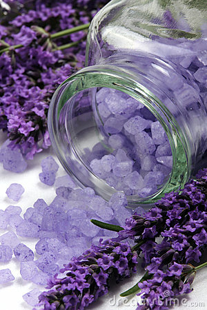 Free Lavender Spa Royalty Free Stock Image - 5613606