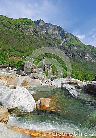 Lavertezzo,Verzasca Valley,Ticino