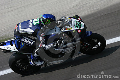 Laverty at monza Editorial Image