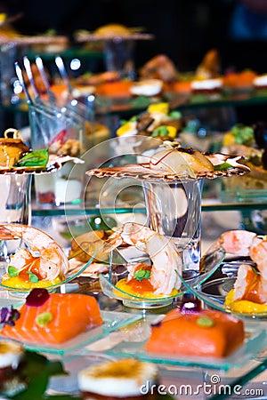 Lavish Food Display