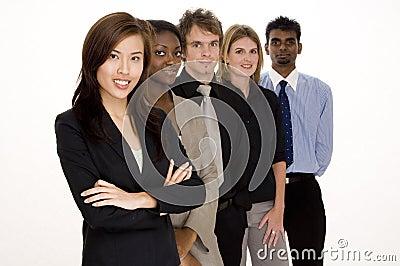 Lavoro di squadra di affari