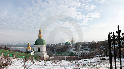 Lavra at winter