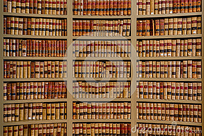 Law Books Editorial Stock Image Image 37533094