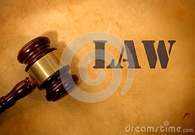 Law and gavel