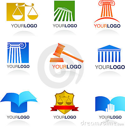 Law icons and logos