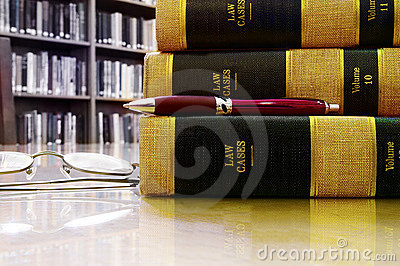 Law library - legal books