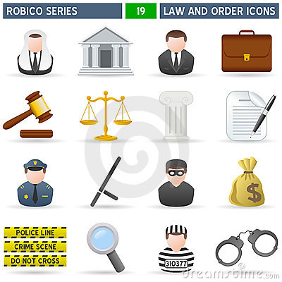 Law & Order Icons - Robico Series