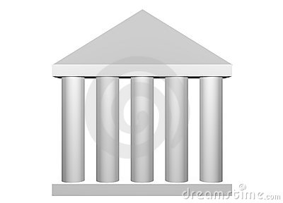 Law and Order Roman Columns