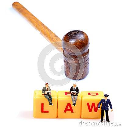 Law under pressure