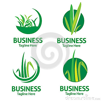 Lawn care logo stock vector image 57371226 for Lawn treatment companies