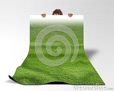 Lawn carpet
