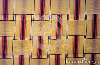 Lawn Chair Detail Stock Photo