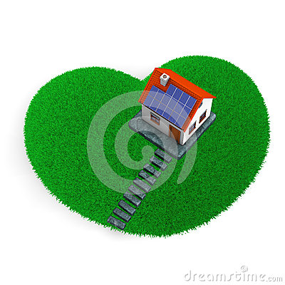 Lawn Heart House