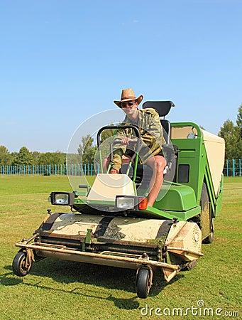 Lawn man mower