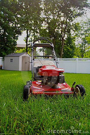 Free Lawnmower Royalty Free Stock Photo - 2604735