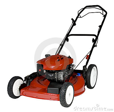 Free Lawnmower Isolated Royalty Free Stock Image - 11698286