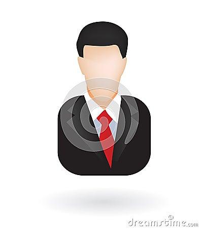 Lawyer businessman avatar