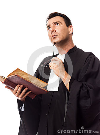 Lawyer man portrait