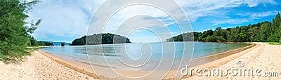 Layan beach on Phuket island, Thailand.