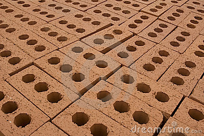 Layer of bricks