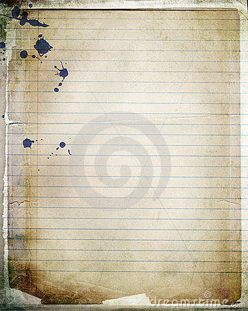 Free Layered Notebook Paper Royalty Free Stock Image - 4166016
