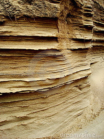 Free Layers Of Sand Royalty Free Stock Images - 4826919