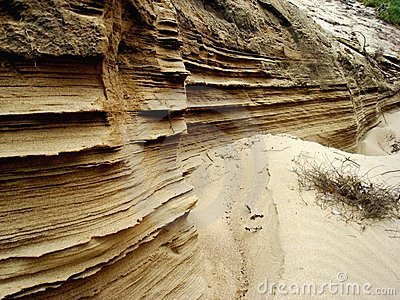 Layers of Sand