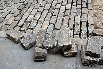 Laying Cobblestones