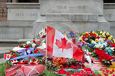 Laying wreaths Editorial Stock Image