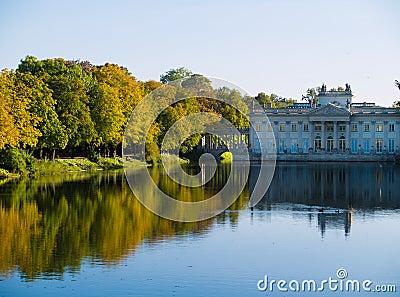 Lazenki park, Warsaw, Poland