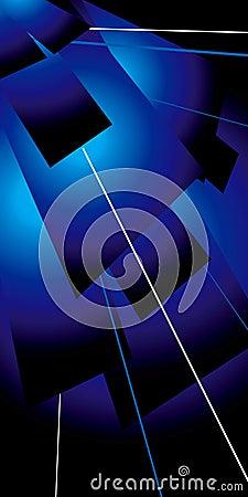 Lazer flap blue