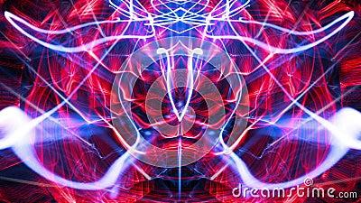 Lazo completo Nektar Digital de HD VJ almacen de metraje de vídeo