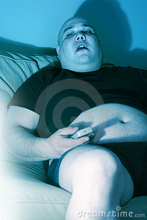 Free Lazy Couch Potato Royalty Free Stock Photos - 4691478