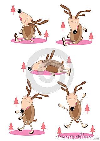 Lazy Deer Set_eps