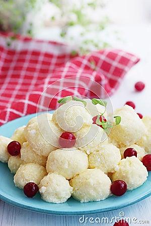 Free Lazy Dumplings Stock Photography - 39751132