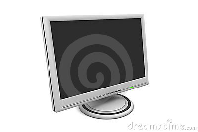 LCD Flat Screen Monitor