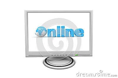 LCD Flat Screen Monitor Online