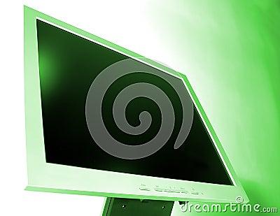 LCD het scherm