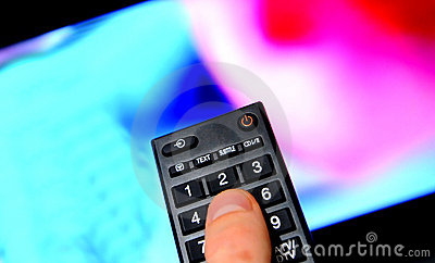 Lcd led tv remote control