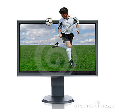 LCD Monitor and Back Kick