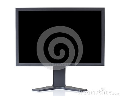 LCD Monitor with clipping paths