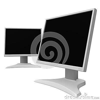 LCD monitors 10