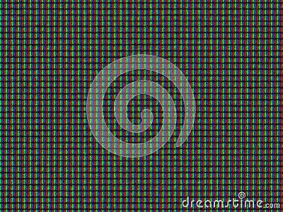Lcd pixel textured