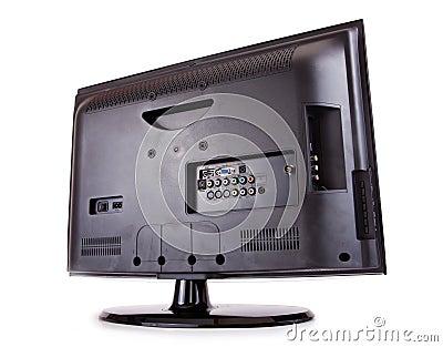 LCD T.V. Rear