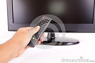 LCD T.V. Remote