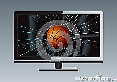 LCD TV Broken Ball Set 3