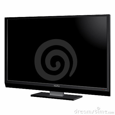LCD TV screen