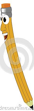 Lächelnder Bleistift