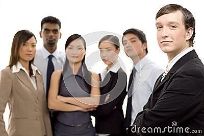 Líder de negócio 2 do grupo
